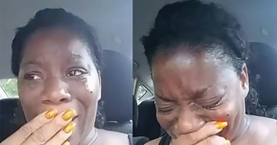 Woman takes 11 plates of food to park, left in tears after meeting crying mother: 'I know god is real'
