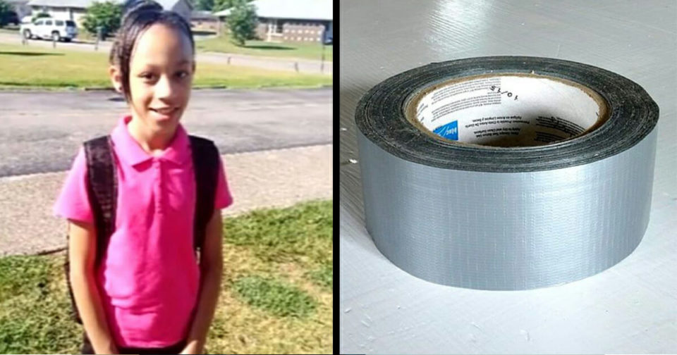 """10-year-old """"humiliated"""" at school after teacher tapes her mouth shut in class"""