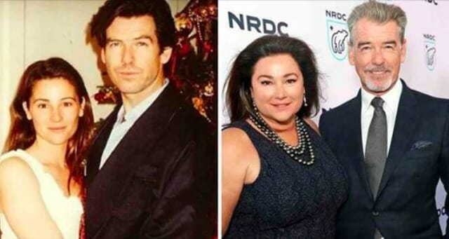 17 years after marrying his wife, Pierce Brosnan finally comes clean