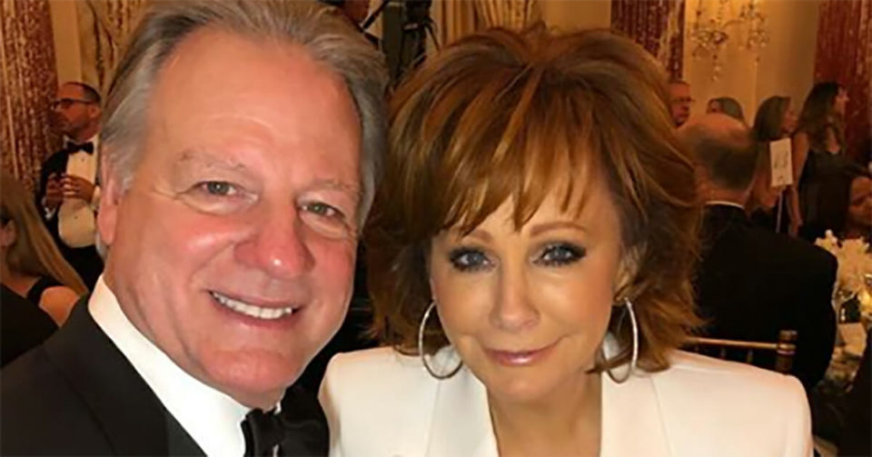 The story of how country music queen Reba McEntire met new beau Anthony Lasuzzo is incredible pure