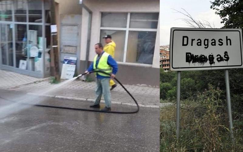 Madhështore: Pas shiut, edhe Komuna e Dragashit i lanë rrugët e qytezës!