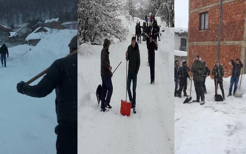 Qytetarët pastrojnë, Komuna shpenzon: Mbi 65 mijë euro të raportuara si shpenzime për mirëmbajtjen e rrugëve dimërore