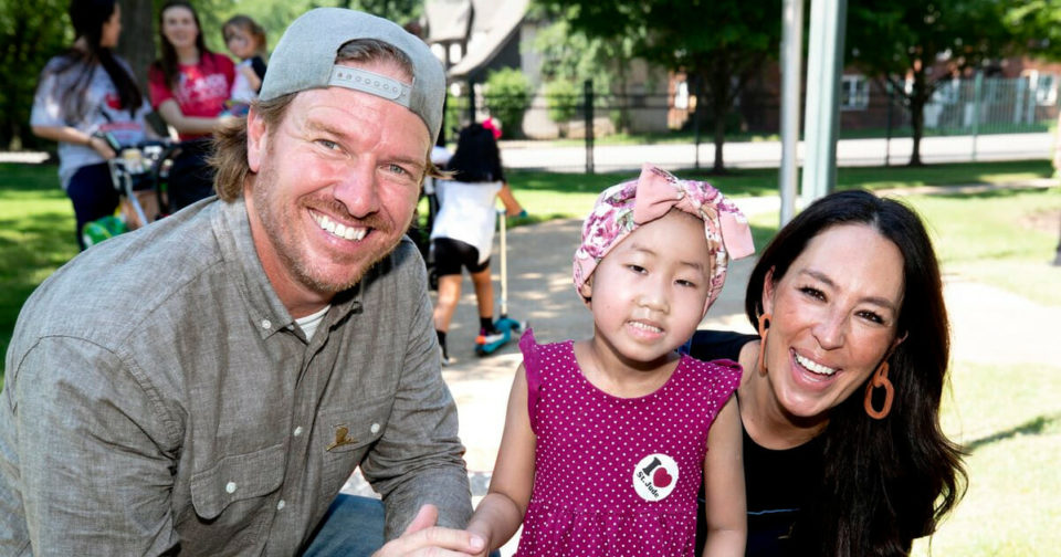 Chip and Joanna Gaines give .5 million dollars and a new playhouse to childrens hospital