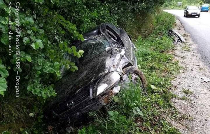 Dy aksidente në Dragash, vetëm gjatë natës që lam pas!