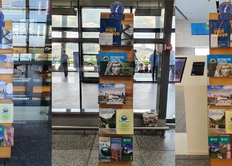"""Komuna e Dragashit promovon turizmin në Aeroportin """"Adem Jashari"""""""
