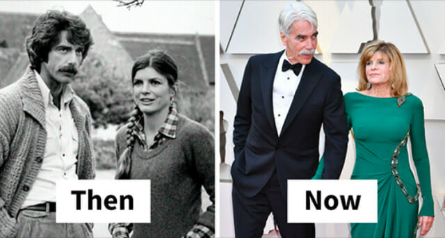 21 then and now photos of Sam Elliott and Katharine Ross that portray true Hollywood love story