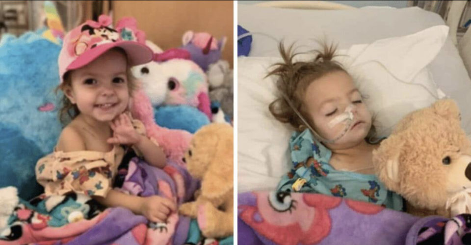 Toddler diagnosed with rare stage 3 ovarian cancer receives clean bill of health