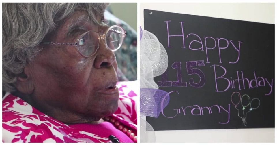 Hester Ford, possibly the oldest living American, celebrates her 115th birthday