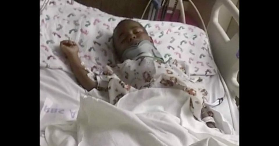 4-year-old boy miraculously survives hit-and-run after being dragged down street by pick-up – help us pray for him