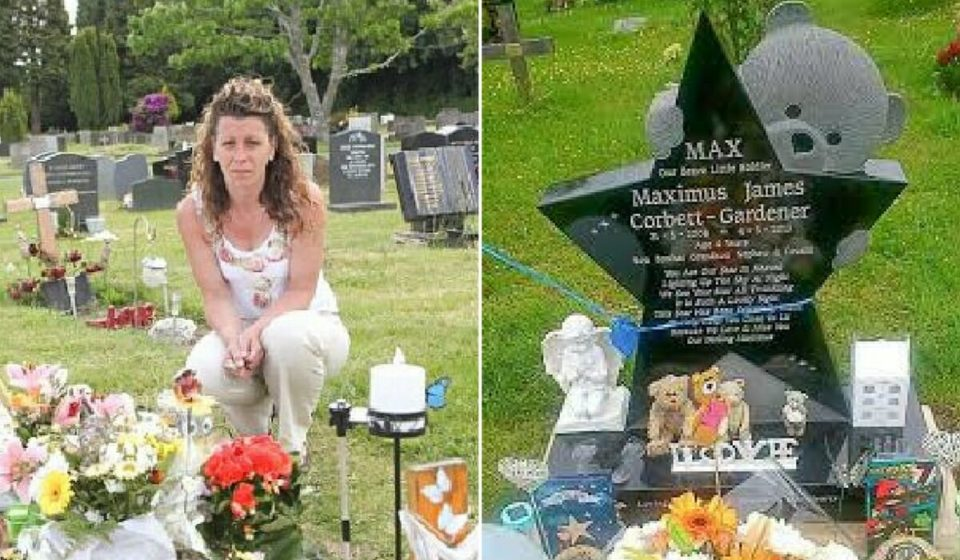 Cemetery removes 4-year-old boys's headstone because one single person complained