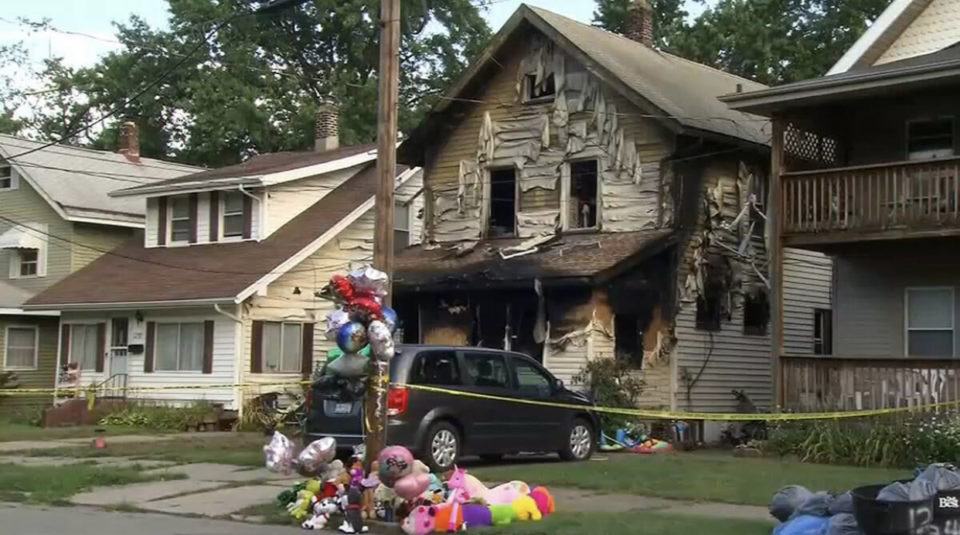 Firefighter loses four children in day care fire that took five young lives