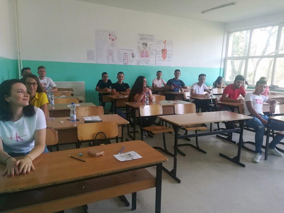 Ka filluar pjesa e parë e afatit të dytë të Testit të Maturës në komunën e Dragashit