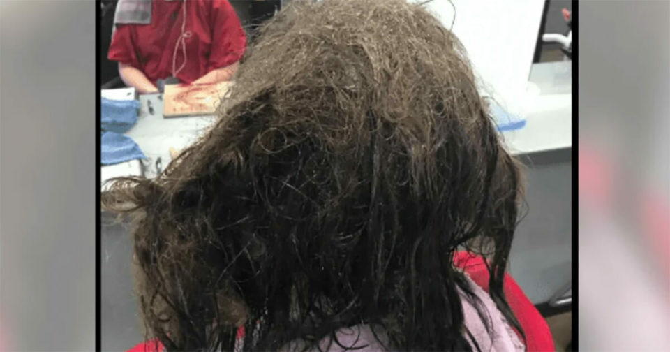 Hair stylist refuses to shave depressed girls's matted hair – gives her makeover of a lifetime instead