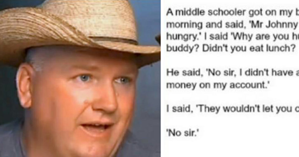 Georgia bus driver loses his job after Facebook post about starving student went viral