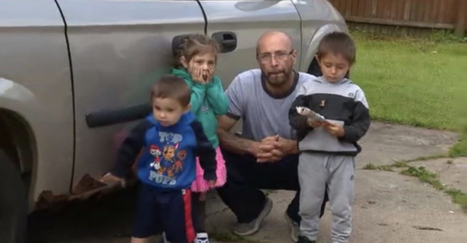 Homeless father unable to find shelter willing to take men with children