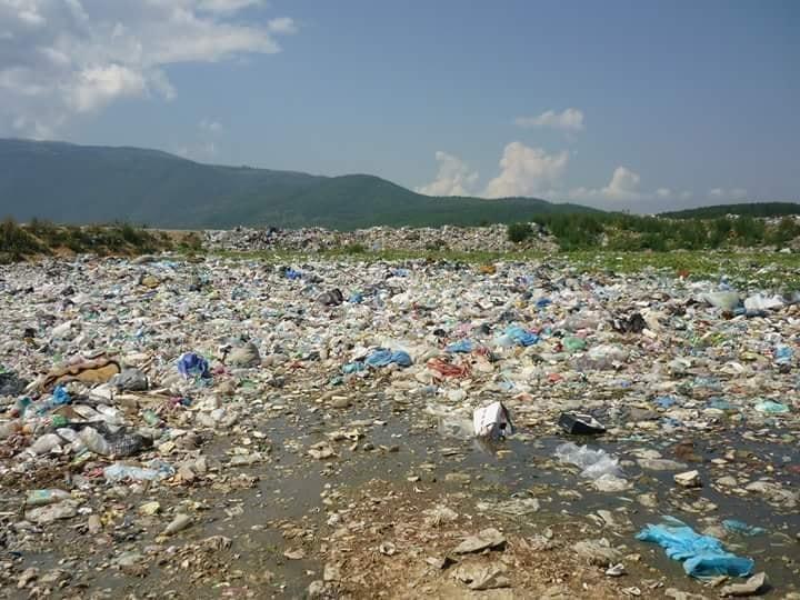 Deponia e mbeturinave në Komunën e Dragashit është jashtë kontrollit