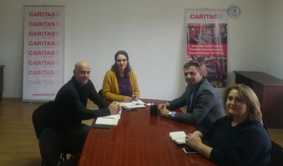 Aktivitetet e Drejtorisë së Arsimit në Dragash me Caritasin Zviceran (CaCH) në kuadër të projektit SHPRESE të cilat ndërlidhen drejtpërdrejtë me klasat para fillore