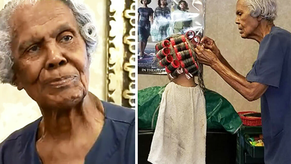 This 101-year-old woman still working as a hair stylist she has some wise words for us all