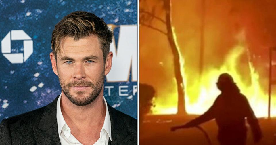 Chris Hemsworth pledges ,000,000 to Australian bush crisis as fires rage