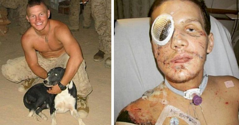 Let's pay tribute to this brave soldier who jumped on a grenade to save his fellow marine