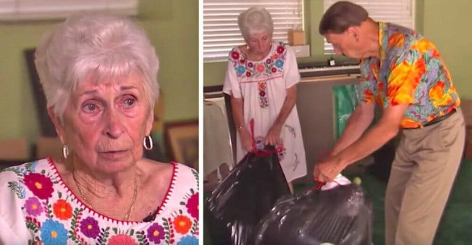 Elderly couple being evicted after grandson scammed them by selling their home