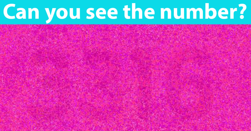 Only geniuses will find the number in this picture