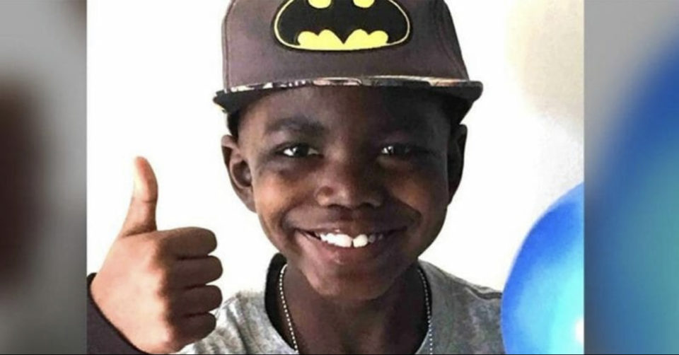 9-year-old boy celebrates beating stage 4 brain cancer