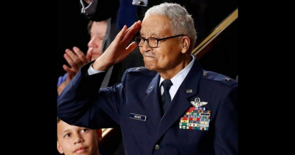 100-year-old Tuskegee Airmen honored during State of the Union
