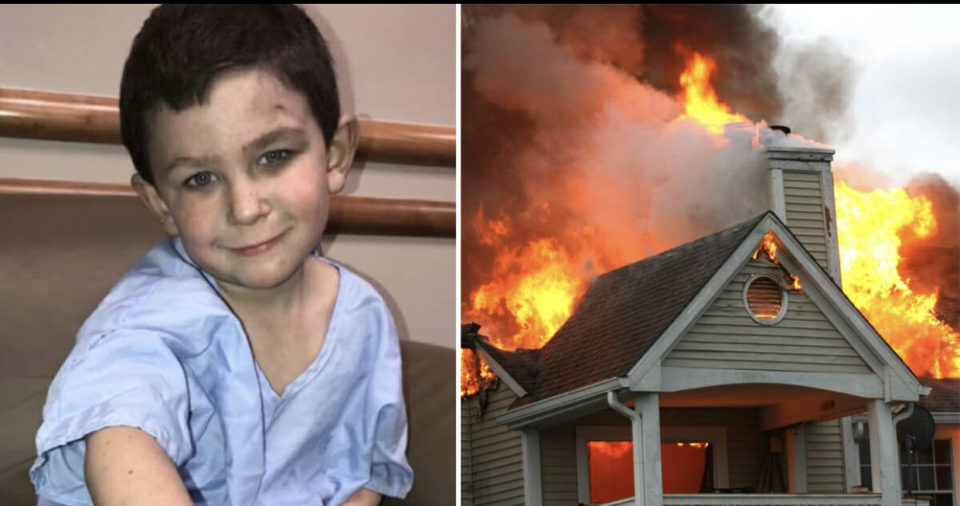 Heroic 5-year-old carries sister out of burning home, then rushes back to help save 7 other family memebers