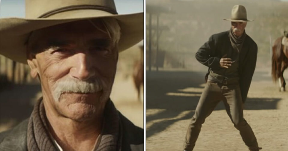 Sam Elliot has cowboy dance off against Lil Nas X, and people are losing it