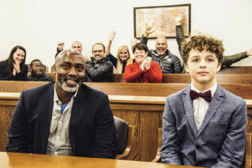 'Mr. Peter, can I call you my Dad?' I began to cry uncontrollably.': Single dad adopts 11-year-old boy from foster care after biological, adoptive family abandon him