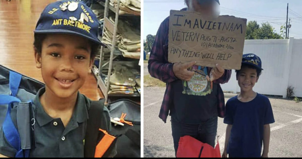 8-year-old rises over ,000 for homeless veterans – let's hear it for this little champ