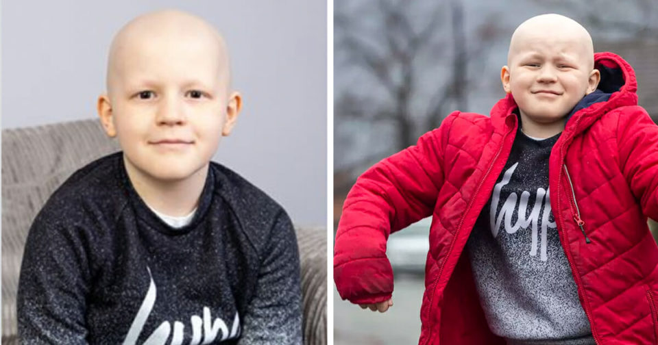 9-year-old beats ultra-rare cancer only five people have survived – congratulations, Saul ❤️