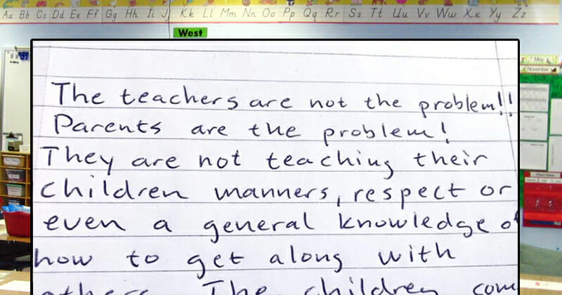 Retired teacher's letter to parents is being praised by thousands: Do you agree?