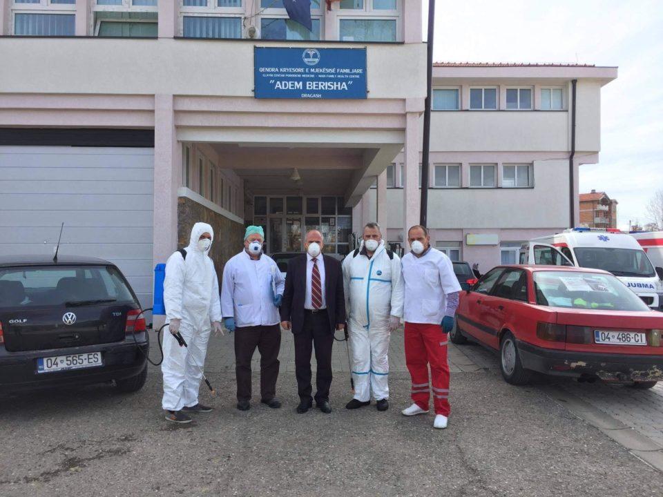 Në Dragash dezinfektohen të gjitha objektet shëndetësore
