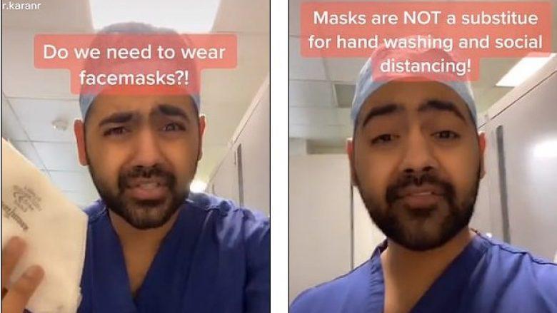 A po na mbrojnë në të vërtetë maskat nga COVID-19? E tregon mjeku