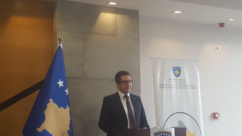 Mustafa:  Për të rritur sasinë e ushqimit, kam riorganizuar programet mbështetëse të Ministrisë për bujqit (Video)