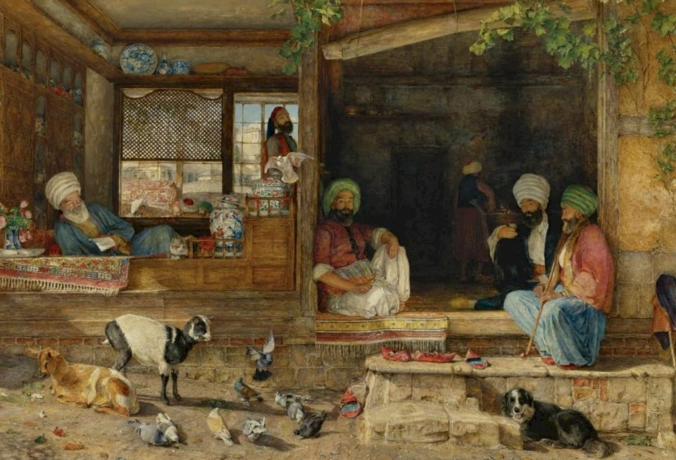 Historiani arab El-Verdi shkruan për murtajën e vitit 1348