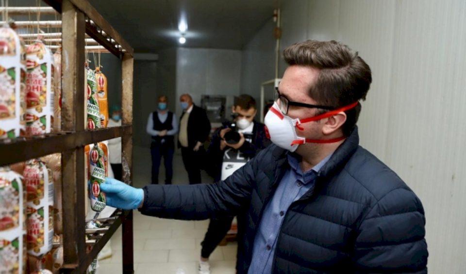 Mustafa pranë kultivuesve në kohë pandemie