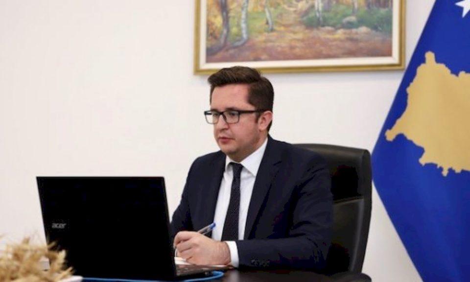 Ministri Mustafa zhvilloi videokonferencë me ministrat e Bujqësisë të Ballkanit Perëndimor