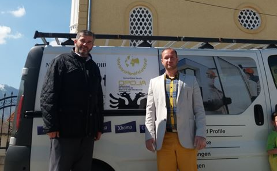 """Po vazhdon aksioni """"Shporta e Ramazanit"""" nga Shoqata humanitare """"Opoja"""""""