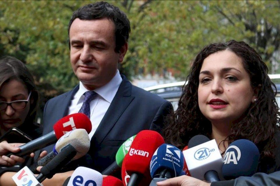 Raporti i UNDP: Qytetarët më së shumti të kënaqur me punën e Vjosa Osmanit, Albin Kurti në vendin e dytë