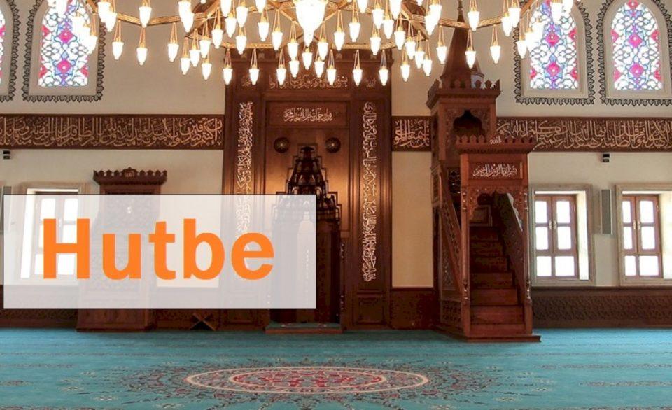 Hutbeja e fundit e Ramazanit