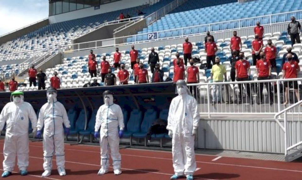 Gjyqtarët kosovar të gatshëm për rifillimin e ndeshjeve të Superligës