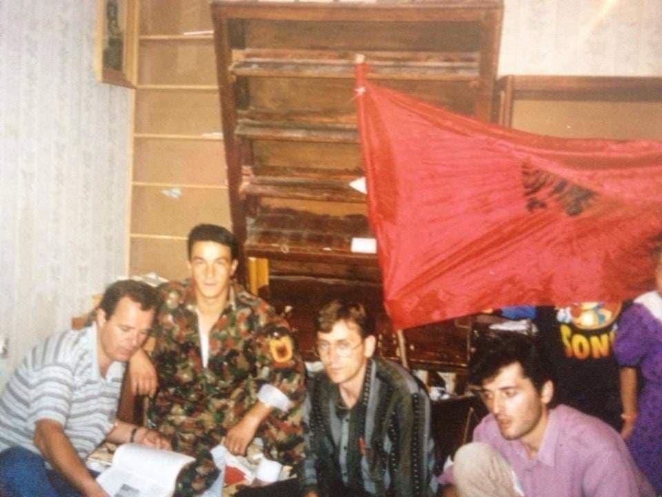 I plagosuri i Betejës së Kosharës, Samet Ramadani