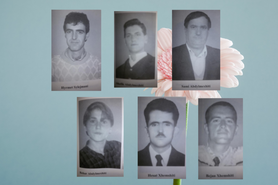Të vrarët nga Bresana që jetonin në Prizren gjatë majit 1999