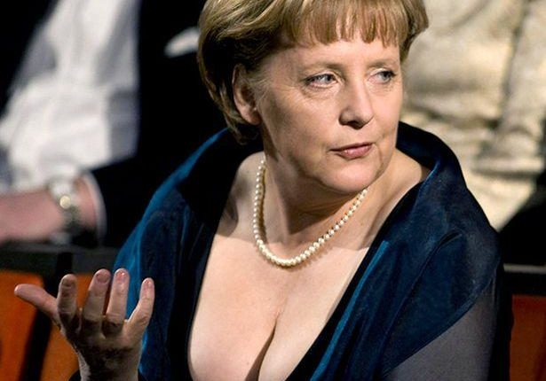 Angela Merkel Nudo, Publikohen Fotot E Ralla Të Kancelares Gjermane (SKANDALI PUBLIKOHET