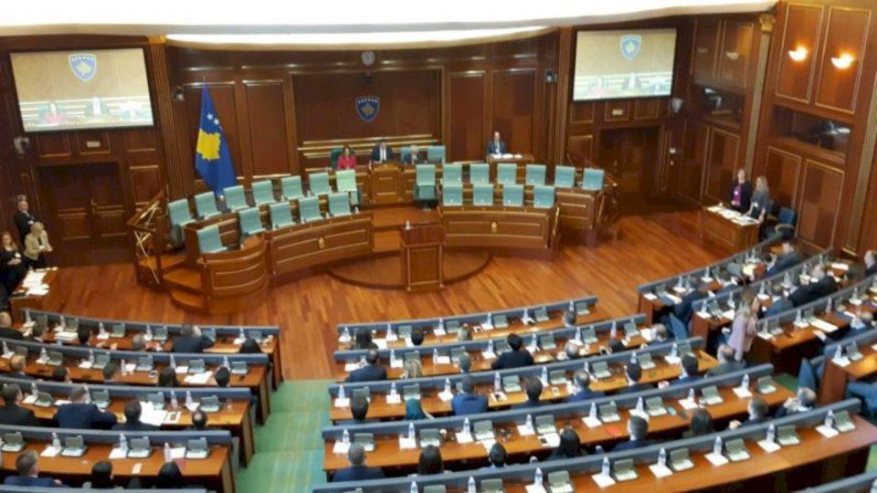 Kuvendi mban seancë për votimin e qeverisë së re