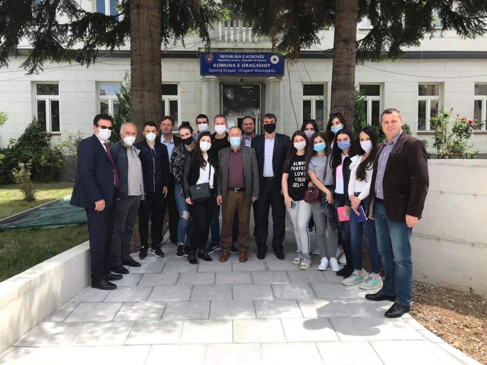 Komunën e Dragashit e vizituan profesorët nga Fakulteti i Bujqesisë dhe Veterinarisë