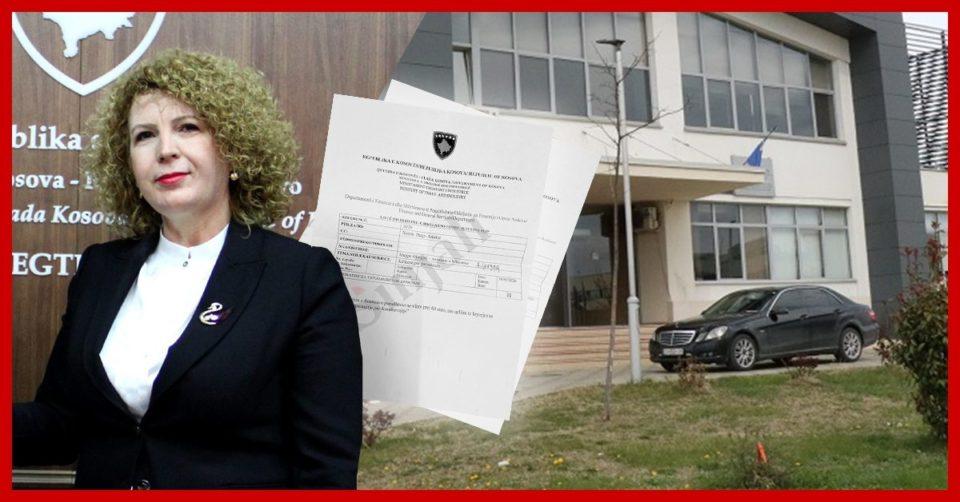 Abuzim: Shoferi i ish-ministres Rozeta Hajdari pagoi gjobën e trafikut me paratë e taksapaguesve